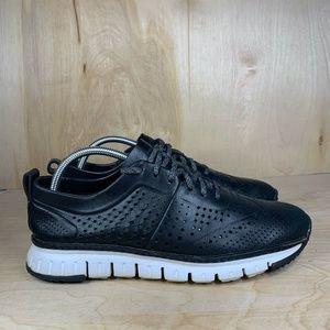 Cole Haan ZEROGRAND Black Leather Sneaker